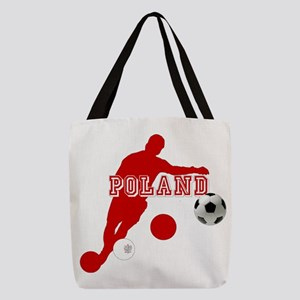 Polish Soccer Player Polyester Tote Bag
