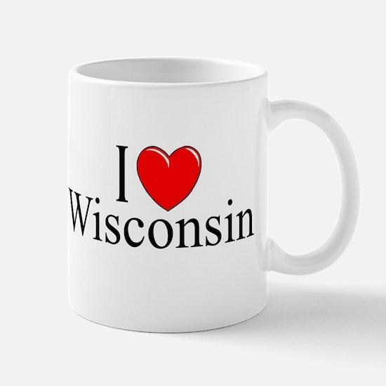 """I Love Wisconsin"" Mug"