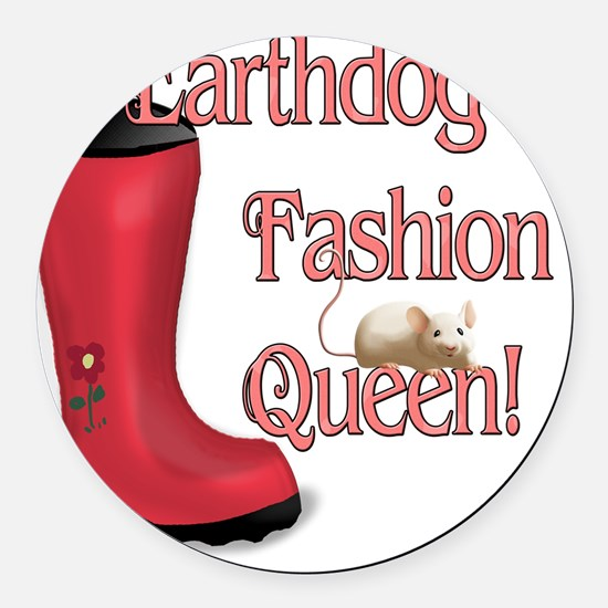 earthdogfashionqueen Round Car Magnet