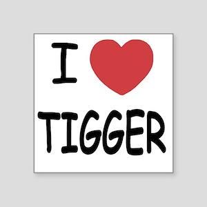 """TIGGER Square Sticker 3"""" x 3"""""""