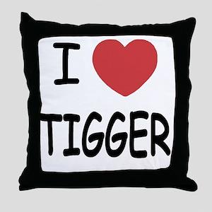 TIGGER Throw Pillow