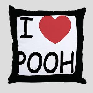 POOH Throw Pillow