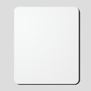 Dachshund-University-dark Mousepad