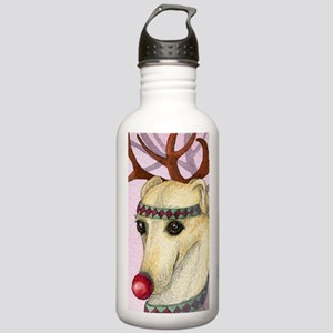 Red nosed reindog Stainless Water Bottle 1.0L
