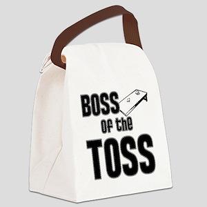 Cornhole_Boss_Black Canvas Lunch Bag