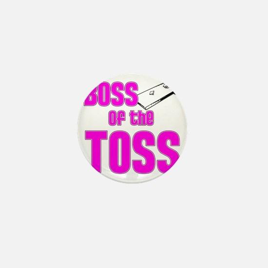 Cornhole_Boss_Pink Mini Button