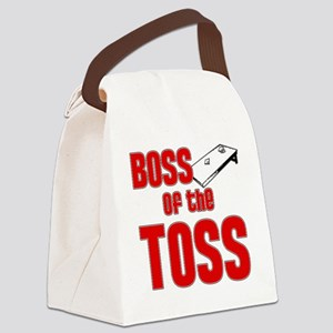 Cornhole_Boss_Red Canvas Lunch Bag