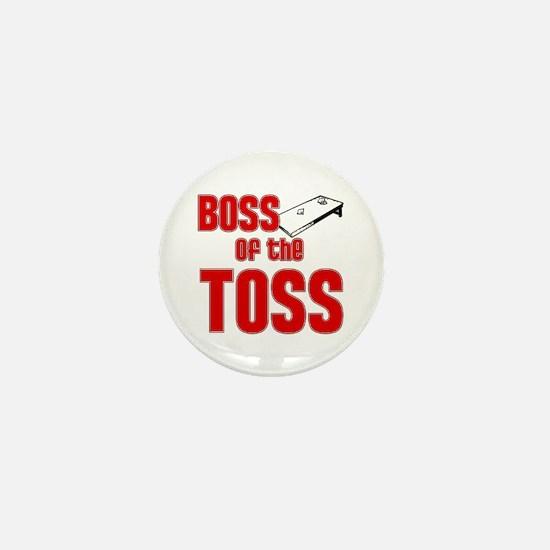 Cornhole_Boss_Red Mini Button