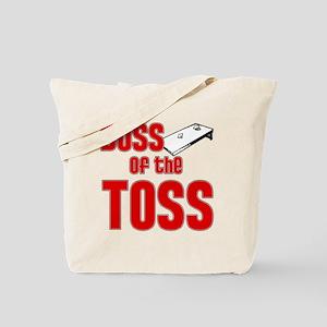 Cornhole_Boss_Red Tote Bag
