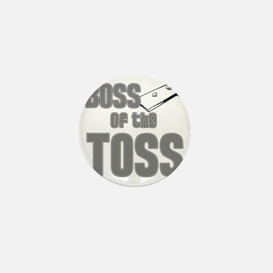 Cornhole_Boss_Grey Mini Button