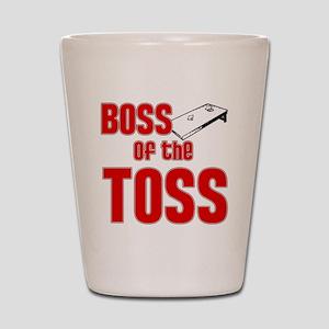 Cornhole_Boss_Red Shot Glass