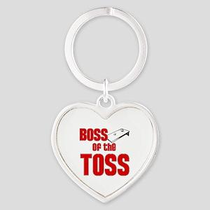 Cornhole_Boss_Red Heart Keychain