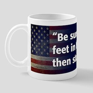 Lincoln Quote Character Mug