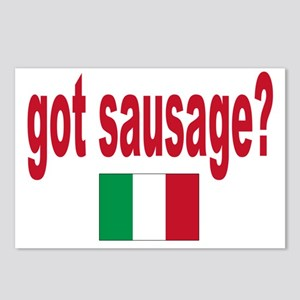 got sausage Postcards (Package of 8)