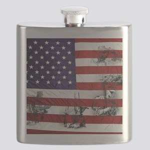 SOLDIER FLAG Flask