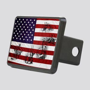 SOLDIER FLAG Rectangular Hitch Cover