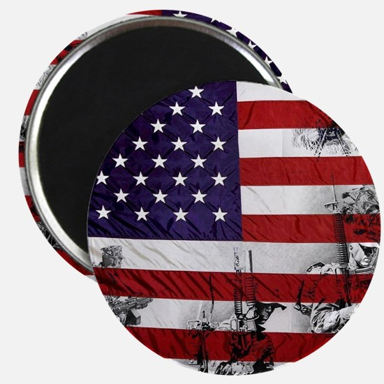 SOLDIER FLAG Magnet