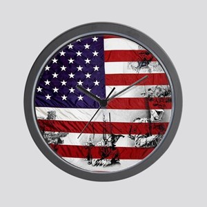 SOLDIER FLAG Wall Clock