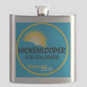 Hickenlooper 2010 Flask