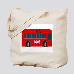 Jolly Red Ride Tea Tote Bag