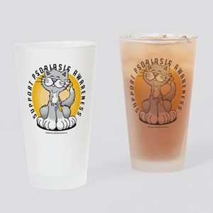 Paws-for-Psoriasis Drinking Glass