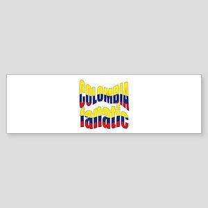 Colombia sports fanatic Bumper Sticker