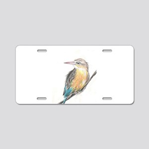 Kingfisher Aluminum License Plate
