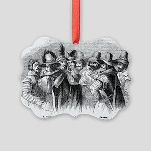 gunpowder conspiracy Picture Ornament