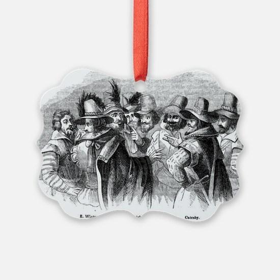 gunpowder conspiracy Ornament