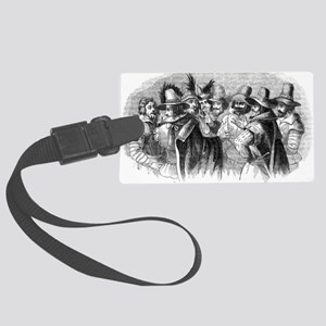 gunpowder conspiracy Large Luggage Tag