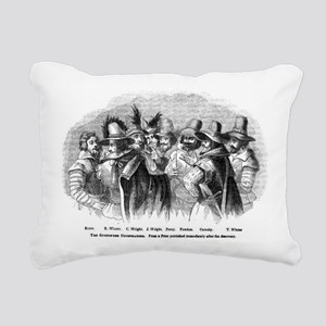 gunpowder conspiracy Rectangular Canvas Pillow