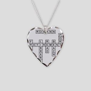 rachel Necklace Heart Charm