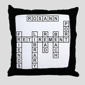 rachel Throw Pillow