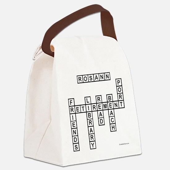 rachel Canvas Lunch Bag