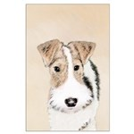 Wire Fox Terrier Large Poster