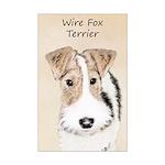 Wire Fox Terrier Mini Poster Print