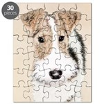 Wire Fox Terrier Puzzle