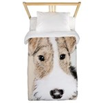 Wire Fox Terrier Twin Duvet Cover
