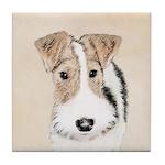 Wire Fox Terrier Tile Coaster
