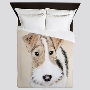 Wire Fox Terrier Queen Duvet