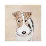 Wire Fox Terrier Queen Duvet