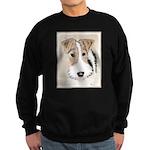 Wire Fox Terrier Sweatshirt (dark)