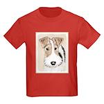 Wire Fox Terrier Kids Dark T-Shirt
