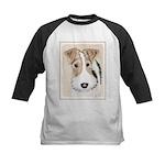 Wire Fox Terrier Kids Baseball Tee