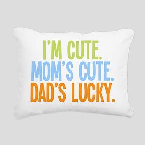 luckydad Rectangular Canvas Pillow