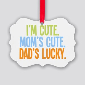 luckydad Picture Ornament