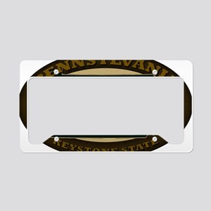 2-Pennsylvania Est 1787 License Plate Holder
