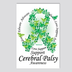 Cerbral-Palsy-Butterfly-R Postcards (Package of 8)