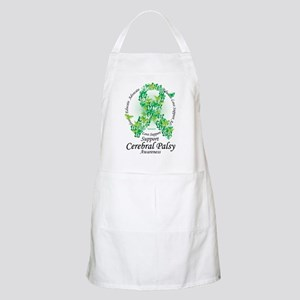Cerbral-Palsy-Butterfly-Ribbon Apron
