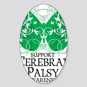 Cerebral-Palsy-Butterfly Sticker (Oval)